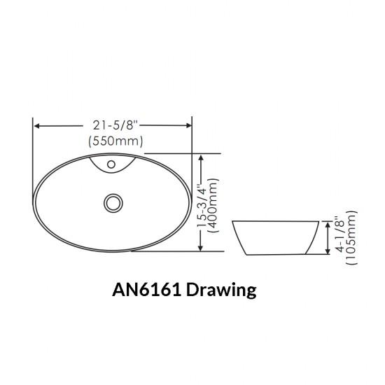 Thin Rim Art Basin AN6161