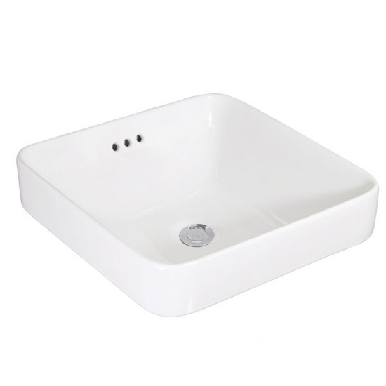 Thin Rim Drop-in Basin AN6173