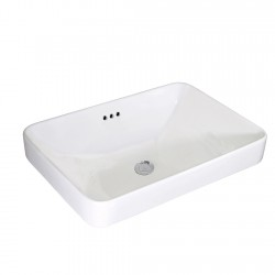 Thin Rim Drop-in Basin AN6174