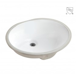 Oval Undermount Basin AN7402