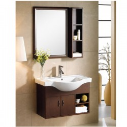 "800mm (32"" ) Wall Hung Bathroom Cabinet AN-M-107"