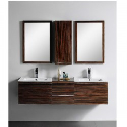 "1615mm(64"" ) Wall Hung Bathroom Cabinet AN-M-112"