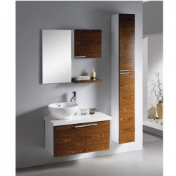 "750mm (30"" ) Wall Hung Bathroom Cabinet AN-M-117"