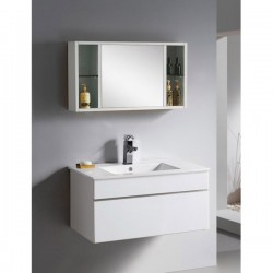 700mm/800mm/900mm White Wall Hung Bathroom Cabinet AN-M-120W
