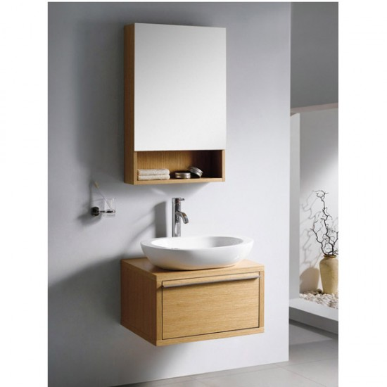 "600mm ( 24"" ) Wall Hung Bathroom Cabinet AN-M-123"