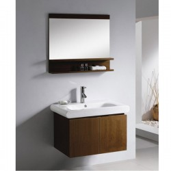 "760mm ( 30"" ) Wall Hung Bathroom Cabinet AN-M-124"