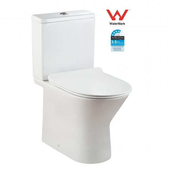 Wash Down Watermark Rimiless Two Piece Toilet AN5814